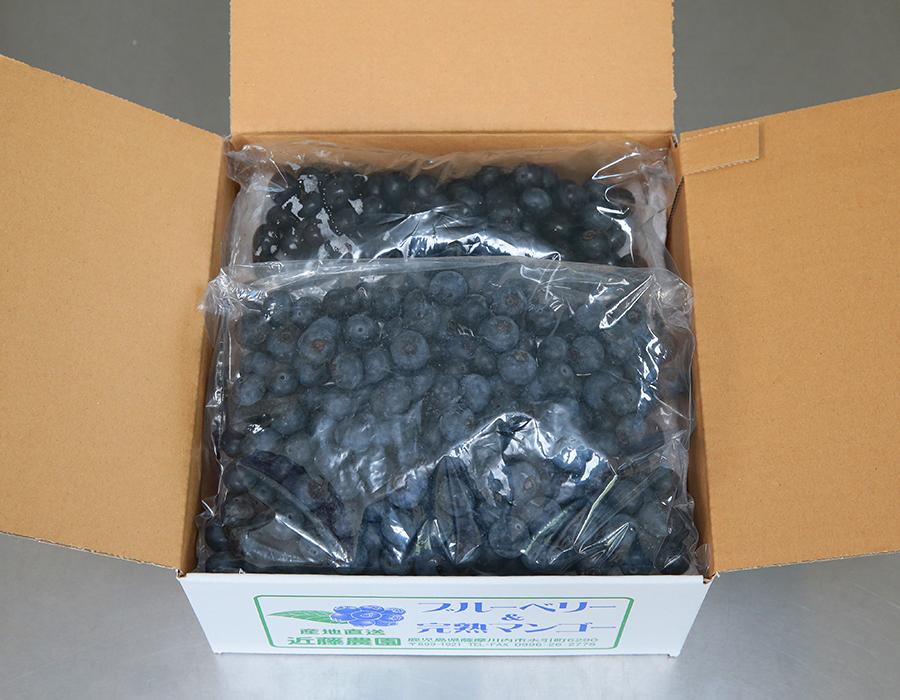 特選ブルーベリー(袋入り1kg)【冷凍】B-17